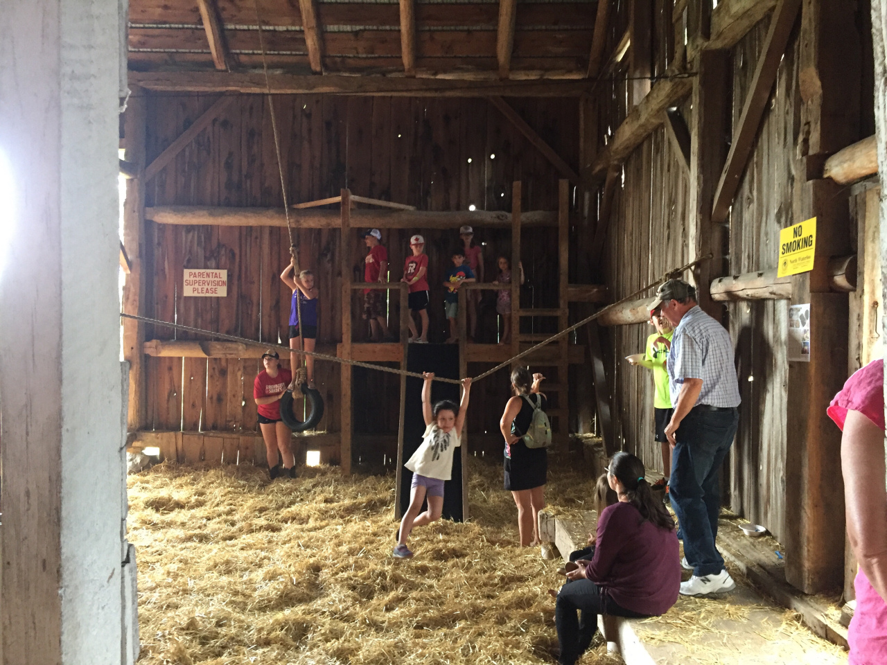 Barn Play Area